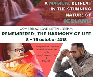 Retreat in Iceland — Praful with Tiger Singleton