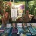 selling CDs with Tarisha at Tantra Essence Festival, Corfu, 2017